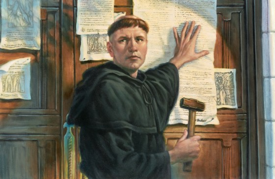 Luther-posting-95-theses